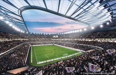 Stade des Lumières, Lyon