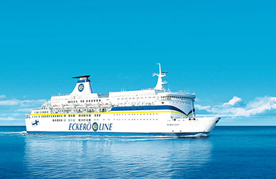 MS Finlandia is one of the largest passenger ferries sailing the Baltic Sea