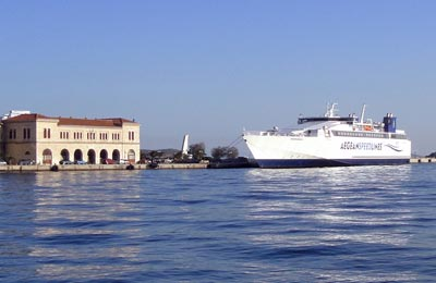 Book your ferry to the Greek Islands with Aegean Speed Lines