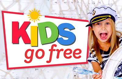 Take the car and the kids go free with Stena Line!