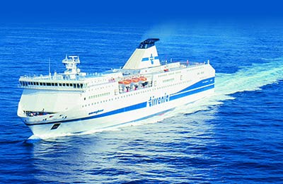 Tirrenia Ferries with Ferrysavers