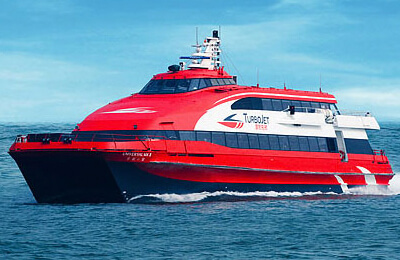 Sail to Honk Kong, Kowloon and Macau with TurboJET Ferries