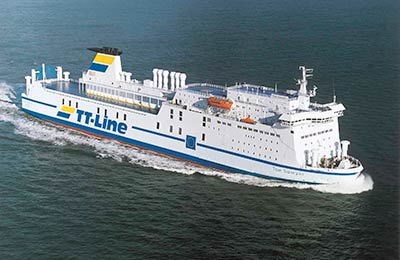 Take a ferry to Germany or Sweden with TT Line