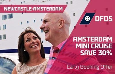 Ahorre 30% en un Mini Crucero Early Bird a Amsterdam
