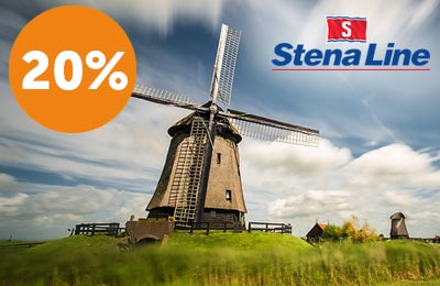Up to 20% off Harwich to Hook of Holland + 10% off pre-booked cabins & meals!